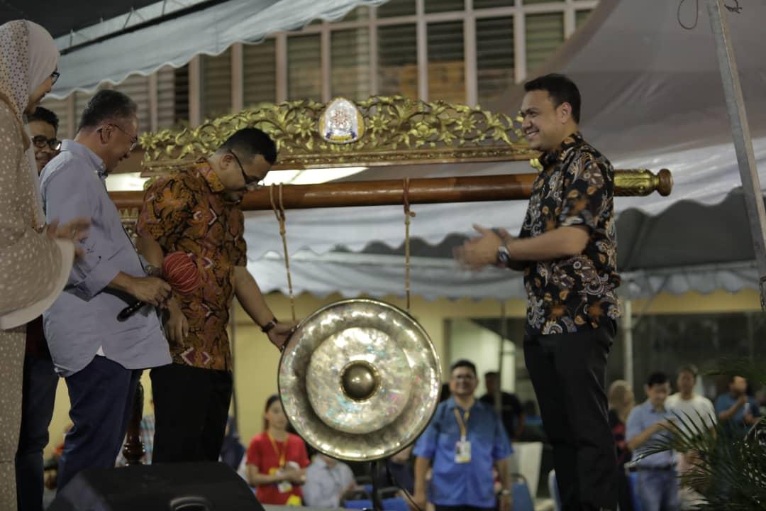 SAMA and MB - gong